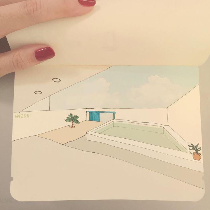 perspective play ⛅️  ❑ art by https://www.instagram.com/iskiii/