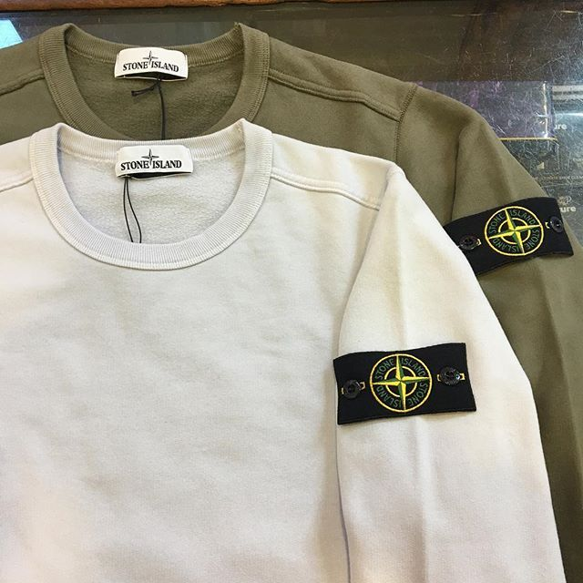New season Stone Island sweats have arrived instore today