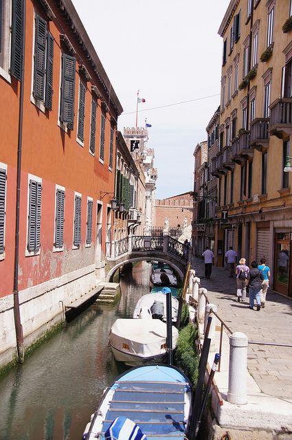 Near the Arsenale, Venice, province of Venezia , Veneto region Italy