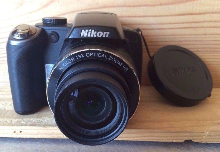 Nikon Coolpix P80 10.1MP Digital Camera. 18x Wide-Angle Zoom-NIKKOR Lens. | eBay!