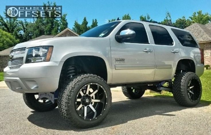 2012 chevy tahoe lifted truck yeah pinterest chevy. Black Bedroom Furniture Sets. Home Design Ideas