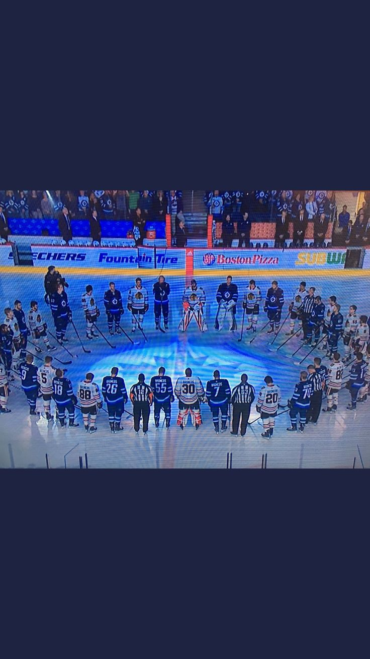 Humboldt Strong Jets,and the Blackhawks