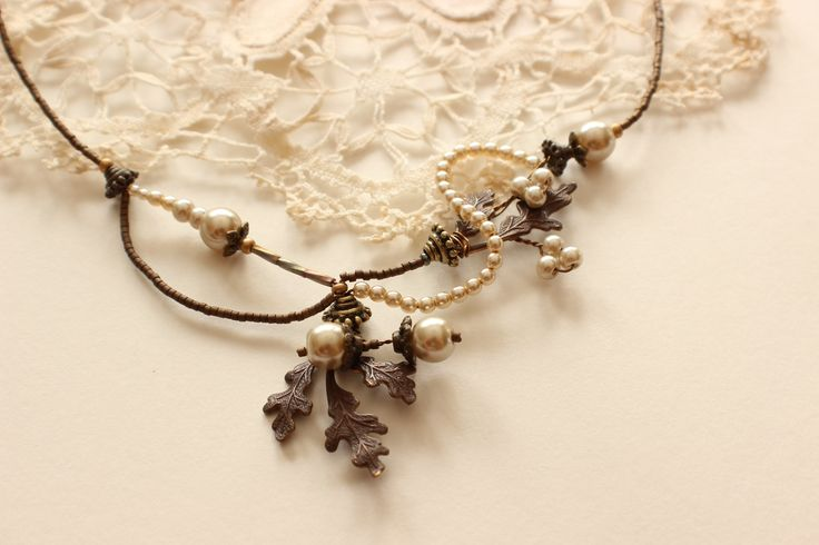 Perfect for a fall wedding! Bridal Jewelry, Wedding Jewelry, Mother of the Bride Jewelry, Bridesmaid Jewelry http://www.robingoodfellowdesigns.com/new-designs-2014/woodland-collection