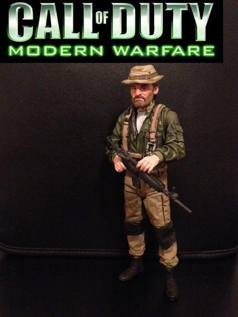 Call of Duty Modern Warefare 3 Captain John Price (Call of Duty: Black Ops) Custom Action Figure