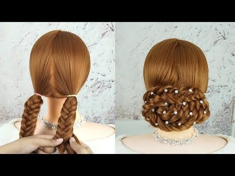 Hairstyle 2019 - Hairstyle Easy - Hairstyle For Prom 💖 Quick And Easy Updo Hairstyles 💗 - YouTube