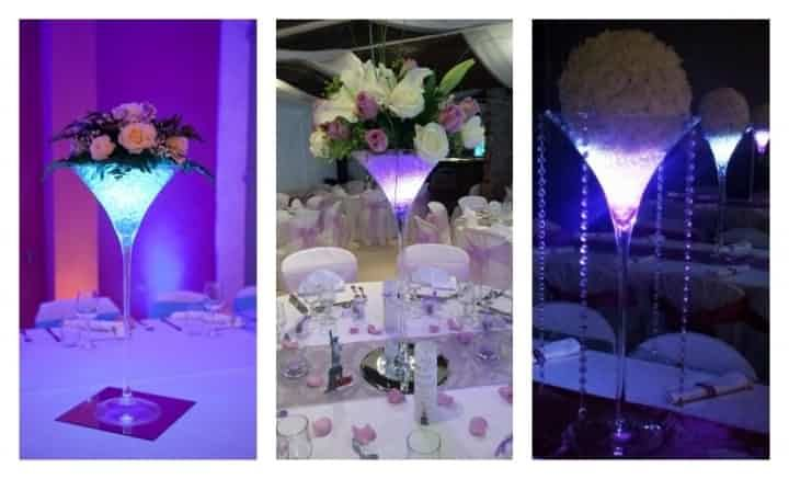 12 best images about mariage de phitou on pinterest for Decoration vase martini