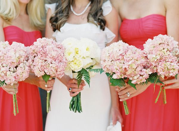 Pink Garden Rose And Hydrangea Bouquet 39 best bouquets images on pinterest | marriage, flowers and