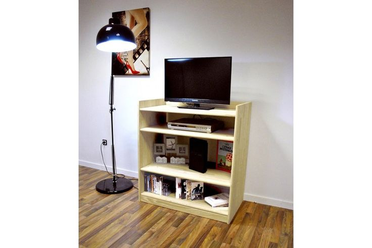 les 9 meilleures images du tableau tag re range cd dvd sur pinterest gamme bois massif et. Black Bedroom Furniture Sets. Home Design Ideas