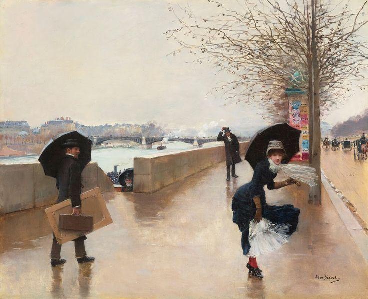 Le Prince Lointain: Jean Béraud (1849-1936), Le Vent.