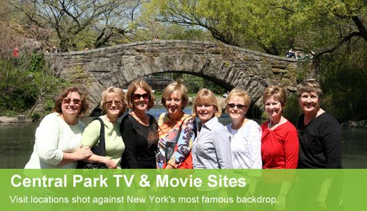 Central Park TV & Movie Sites Tour | Central Park Walking Tour NYC : On Location Tours