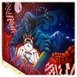 Andean and Celestial Magic, murals of Pisco Elqui in Chile