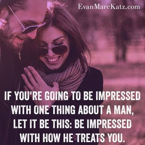 What impresses me is when a man DOESNT CHEAT!!