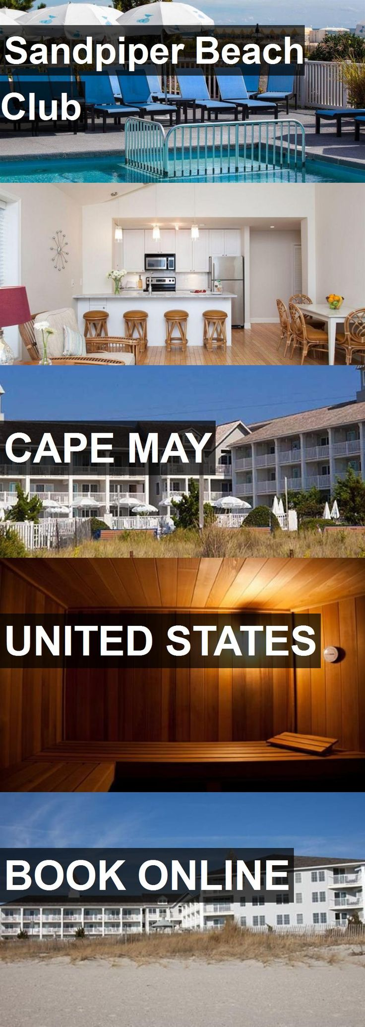 Hotel Sandpiper Beach Club in Cape May, United States. For more information, photos, reviews and best prices please follow the link. #UnitedStates #CapeMay #hotel #travel #vacation