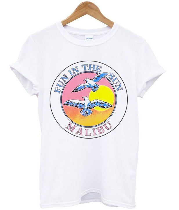 fde015ce9cc8 Fun In The Sun Malibu T-shirt in 2019 | onfleektees.com | Shirts, T ...