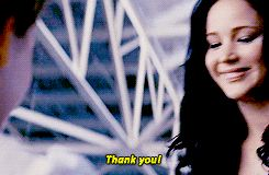 jennifer lawrence the hunger games katniss everdeen thanks thank you