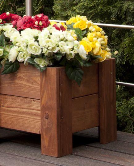 Donica ogrodowa doniczka skrzynia RD-3-100, cena 75zł