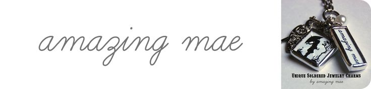 Salt Dough Valentine's Day Heart Necklaces via Amazing Mae (blog)