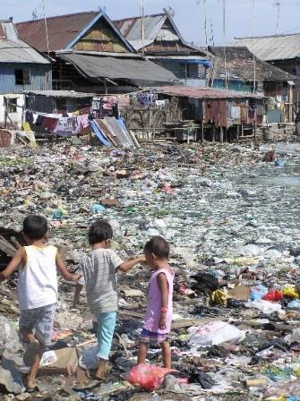 Rubbish dumps in Makassar, South Sulawesi
