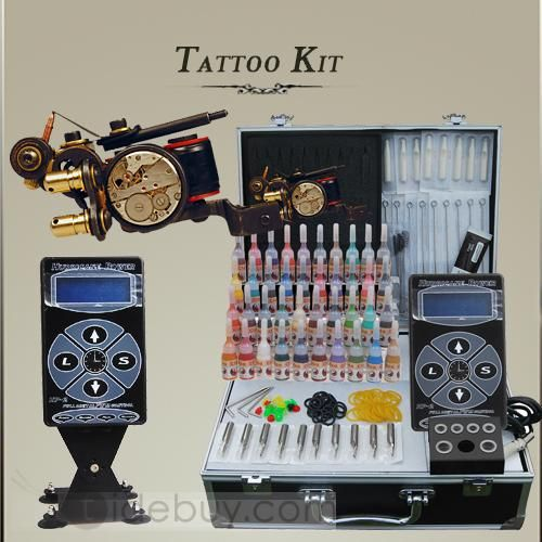 Professional Tattoo Kits 1 High Quality Luo\'s Gun and Hurrican Power ...