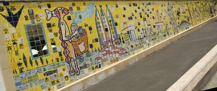 Luis GERALDES. Ceramic mural. Sydney. Australia