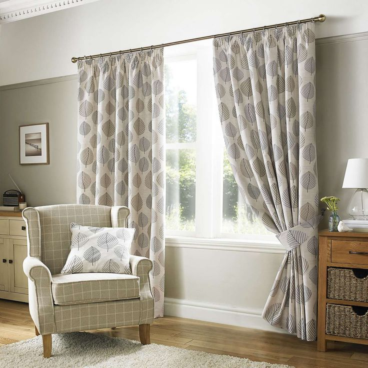 Regan Pebble Fully Lined Pencil Pleat Curtains | Dunelm