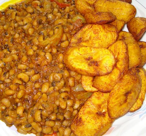 72 best ghanaian foods images on pinterest ghana food african cant go wrong with plantains and beans stew yum forumfinder Gallery