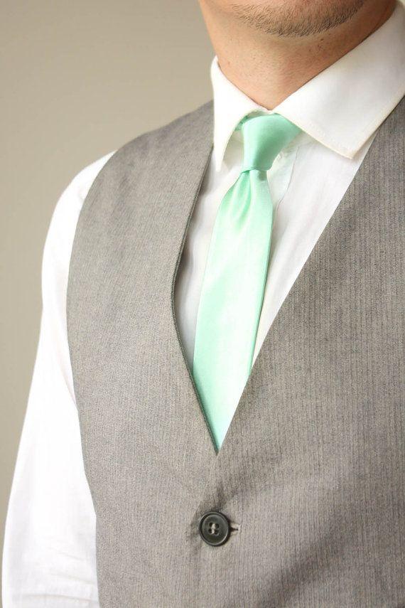 Best 25+ Mint tie ideas on Pinterest   Mint groomsmen ...