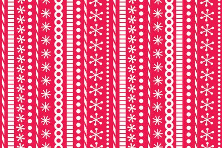 Santa stripes in red - riley blake designs