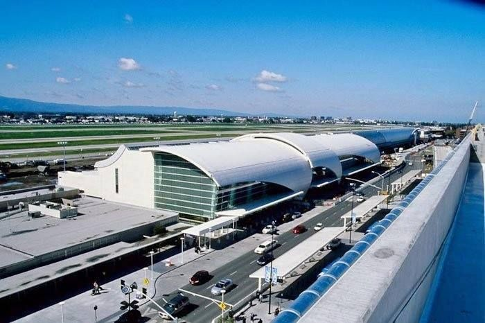 San Jose International Airport, Terminal B (Terminal C was demonlished)  Only Terminal A and B