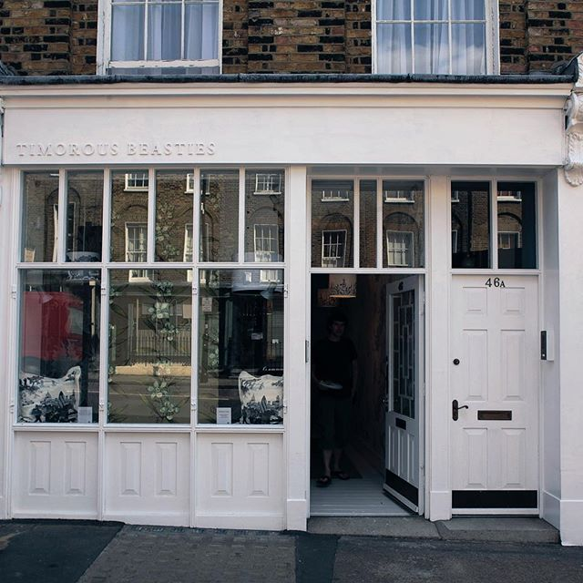 Our London showroom will be closed today owing to shop front upgrade.  .  .  .  .  .  #design #interiors #showroom #london #decor #wallpaper #fabric #textiles #timorousbeasties