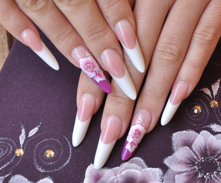 Russian Almond Nails