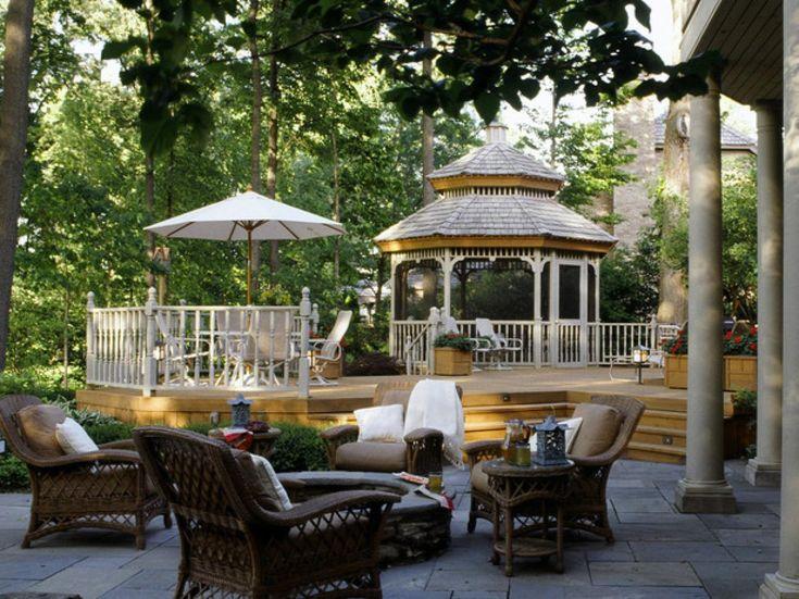 15 best Gazebos images on Pinterest Backyard ideas Deck design