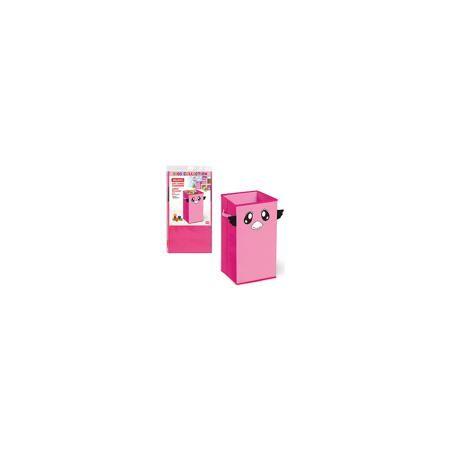 VALIANT Розовый короб для хранения 60*30*30 см  — 640р. -------- Короб для хранения изготовлен из высококачественного нетканого материала, позволяет сохранять естественную вентиляцию. Короб удобен для хранения детских вещей, игрушек. Сочетает в себе практичность и яркий игровой дизайн и прекрасно подойдет для детской комнаты. Мобильность конструкции обеспечивает складывание и раскладывание одним движением.  Дополнительная информация: - цвет: розовый - материал: нетканое полотно  - крышка…