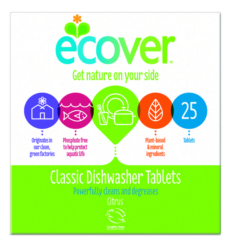 Ecover Classic Dishwasher Tablets – 25 pack!