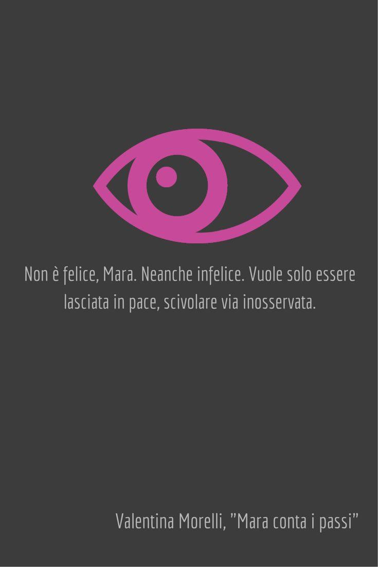 """""""Mara conta i passi"""" di Valentina Morelli (romanzo mainstream).  Consigliato a chi ama i romanzi psicologici, i grandi enigmi, i tocchi di surreale alla Murakami, il fantastico mathesoniano, film come """"Pi Greco – Il teorema del delirio"""", i personaggi letterari fragili e in grado di lasciare un segno in chi legge."""