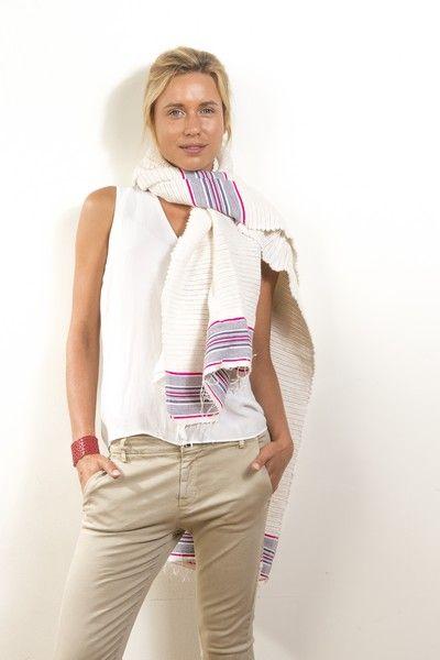 Écharpe, en coton doux, pour se protéger du froid de l'hiver