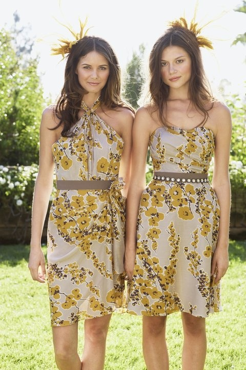 Floral Bridesmaids Dresses    #Watters