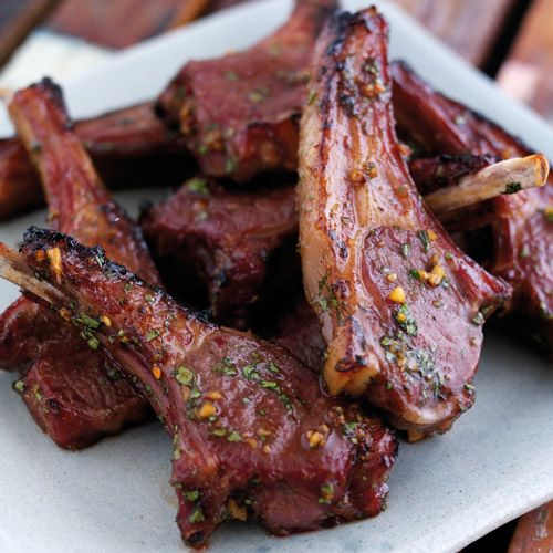 Asian Lamb Lollipops - a wonderfully delicious marinade for lamb cutlets that will have you coming back for seconds!