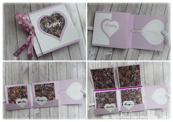 flipbook violet blanc bois wood white purple #scrap #secretsdelina