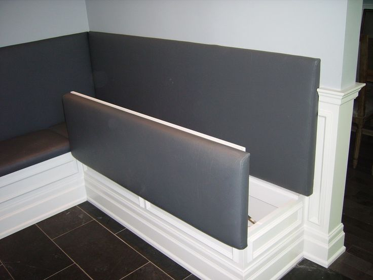 Save to Ideabook Email Photo	 Front-hinged. These allow for an upholstered seat and back.