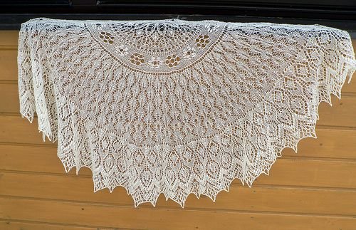 This lace shawl pattern has created for KAL which will take place from 24.01.2012 to 04.03.2012 in Estonian handicraft forum Isetegija.