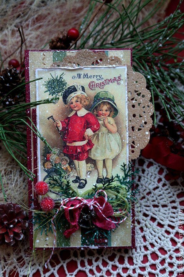 Купить Шоколадница коробочка для шоколада открытка ручной работы - шоколадный подарок, шоколадница ручной работы