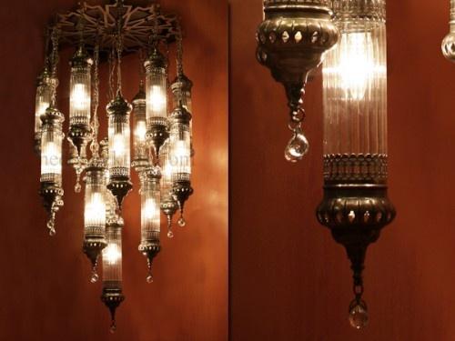 14'lü Osmanlı Sarkıt #ottoman #osmanli #lighting #aydinlatma