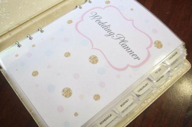 Come Organizzare Un Matrimonio Perfetto L Agenda Di Un Wedding Planner Liste Di Controllo Di Nozze Wedding Planner Planner