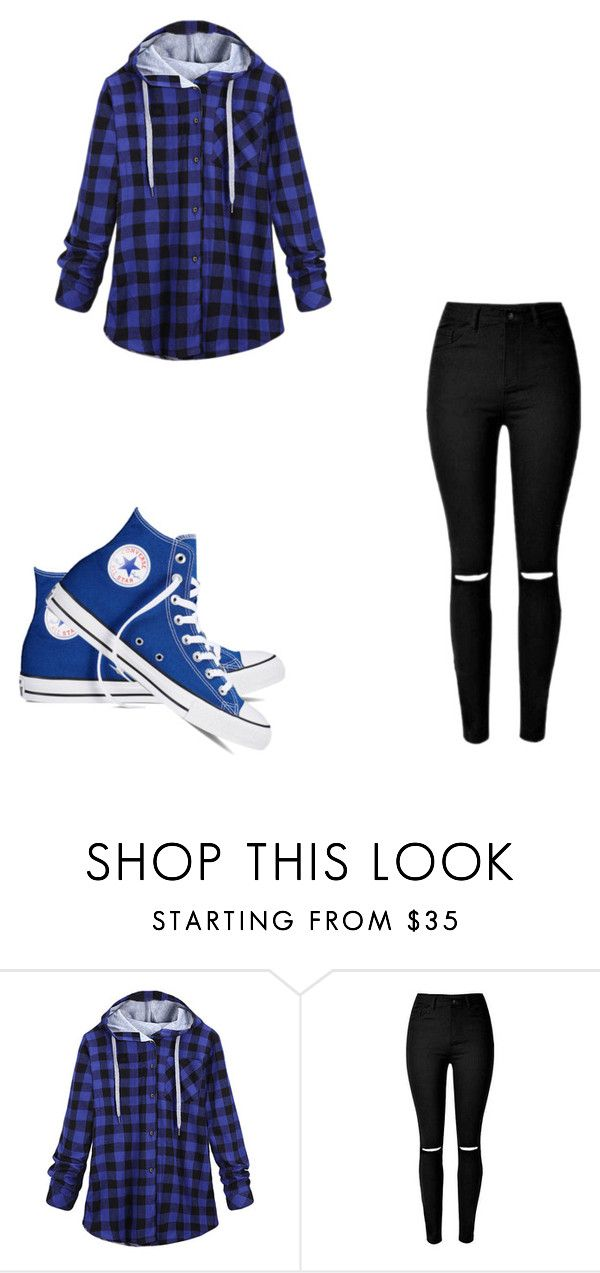 """Untitled #201"" by dubstepfreak on Polyvore featuring Converse"