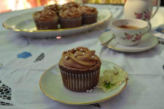 Vulcano cupcakes
