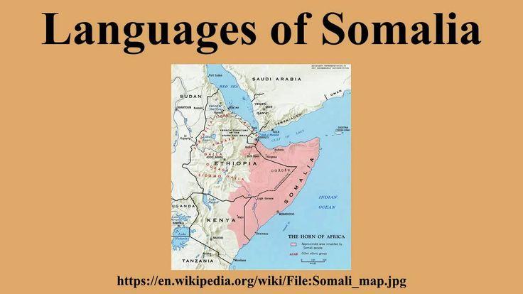 Languages of Somalia