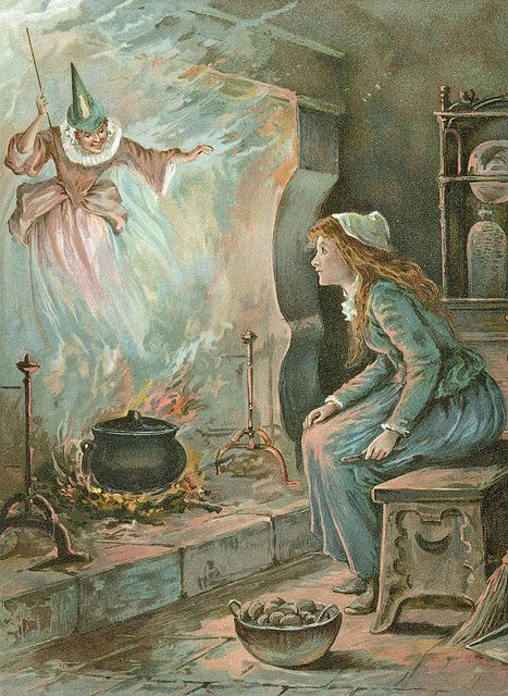 """Ambrose Dudley (fl. 1920s), """"Cinderella and the Fairy Godmother"""",."""
