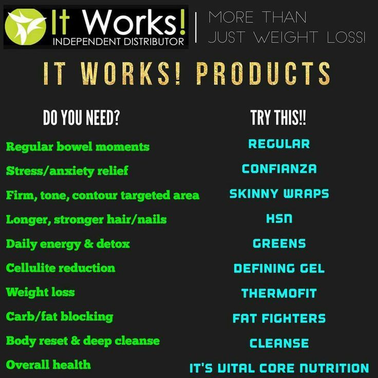 Let me be your it WORKS DISTRIBUTOR!!!! I would love to help you get the new the road to a better you! Msg me or head to my website @ COGARCIARAELYNN.MYITWORKS.COM