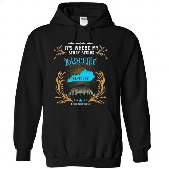 Radcliff - Kentucky is Where Your Story Begins 2103 - vintage t shirts #cool…